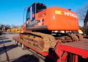 Тягач Hitachi 180 LC